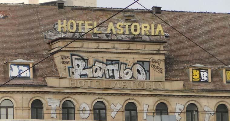 Hotel Astoria in Leipzig vor der Rettung