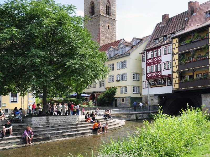 Erfurt Krämerbrücke - tagungshotel-deutschland.com