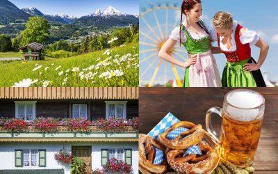 Region Bayern – zwischen Alpen und Seen