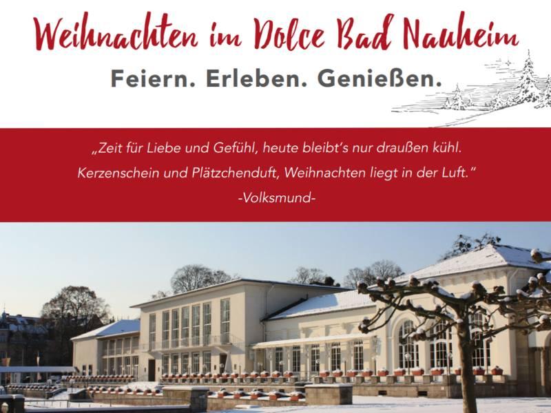 Eventlocation Dolce Bad Nauheim – Weihnachtsfeier Special